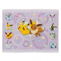 Towel Napkin Pikachu Eevee Friends japan plush