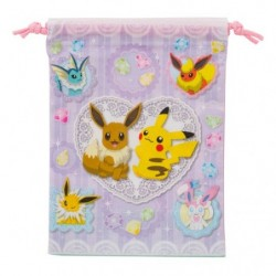 Plastic Bag Pikachu Eevee Friends japan plush