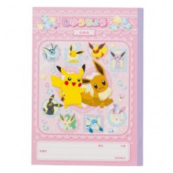 Book Note Pikachu Eevee Friends japan plush