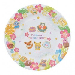 Paper Plate Pokemon s TROPICAL SWEETS japan plush