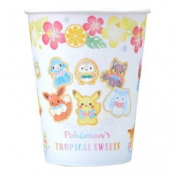 Paper Mug Cup Pokemon s TROPICAL SWEETS japan plush
