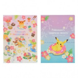 A4 Clear File Pokemon s TROPICAL SWEETS japan plush