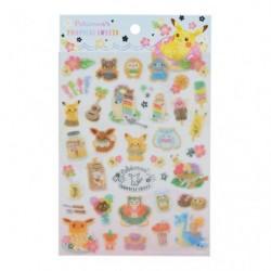 Sticker Pokemon s TROPICAL SWEETS japan plush
