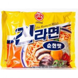 Instant Noodles Jin Ramen Mild Ottogi Ongane Japan