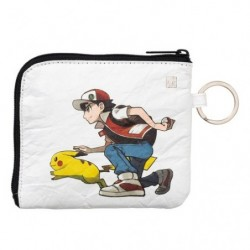 Wallet Red & Pikachu japan plush