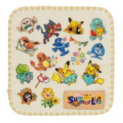 Small Towel Pokemon Summer Life japan plush