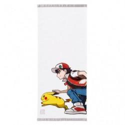 Face Towel Red & Pikachu japan plush
