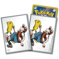 Card Sleeve Red & Pikachu Limited Edition japan plush