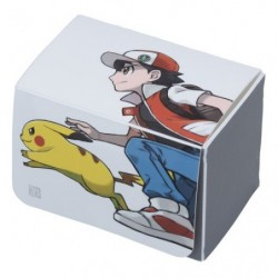 Double Deck Card Red & Pikachu Limited Edition japan plush