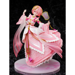 Figure Ram Traditionnal Chinese Dress Re Zero Starting Life In Another World