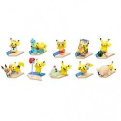Mini Figure Pikachu Sea Side BOX japan plush