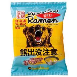 Instant Noodles Shio Ramen Careful Of Bears Fujiwara Seimen