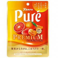 Gummies Mandarin and Blood Orange Puré PREMIUM KANRO
