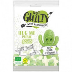 Organic Vegan Gummies Hug Me Please Litchi and Lemon Not Guilty
