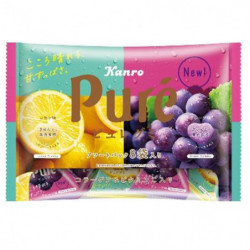 Gummies Lemon and Grape Flavor Puré KANRO