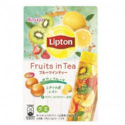 Gummies Sour Fruits Lipton x Kasugai
