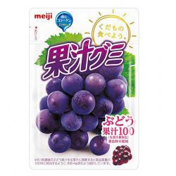 Gummies Grape Kajugumi Meiji