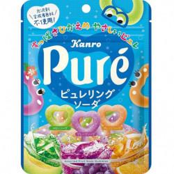 Gummy Assorted Fruit Soda Puré KANRO