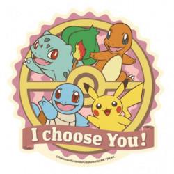 Autocollant Rétro Collection Pikachu Amis B Pokémon