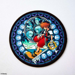 Tapis Souris Circulaire Kingdom Hearts
