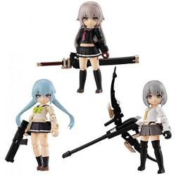 Figure Heavy Weapon Type High School Girls Set Desktop Army