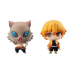 Figures Inosuke Hashibira Zenitsu Agatsuma Limited Edition Kimetsu No Yaiba Chimi Mega Buddy Series