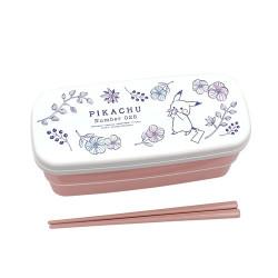 Antibacterial Lunch Box B Pikachu number025 Garden 2