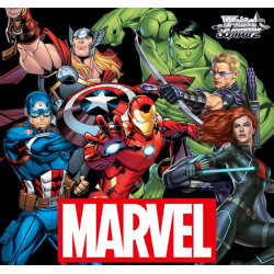 Marvel Avengers Booster Box Weiss Schwarz
