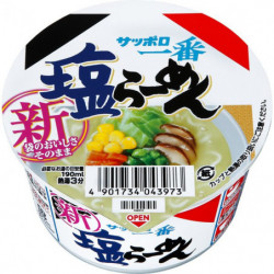 Cup Noodles Sapporo Ichiban Shio Mini Ramen Sanyo Foods