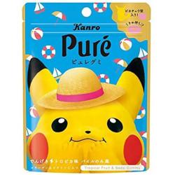 Gummies Pikachu Dengeki Tropical Fruit Puré KANRO