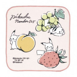 Handkerchief Fruits Pikachu number025