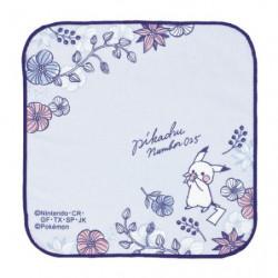 Handkerchief Blue Garden Pikachu number025