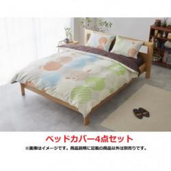 Bed Cover Set Partner Pattern Double Pokémon
