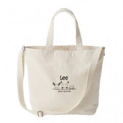 Tote Bag Beige Monpoké x Lee