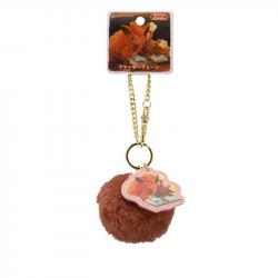 Fur Keychain Vulpix Buneary Pokémon Honwaka Poka Poka