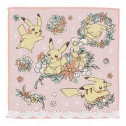 Hand Towel 7 days story Pikachu Pink japan plush