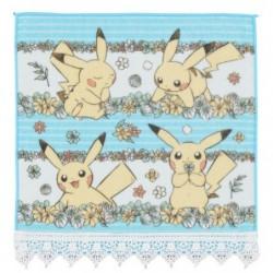 Hand Towel 7 days story Pikachu Green japan plush