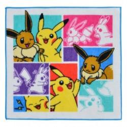 Hand Towel Eevee & Pikachu japan plush