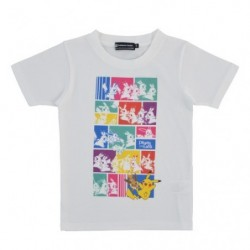 T-shirt Pikachu & Eevee 120 japan plush