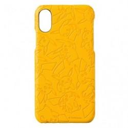 Smartphone Hard Jacket Pikachu Yellow japan plush