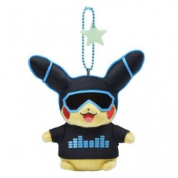 Keychain Plush Pikachu 2018 Blue japan plush