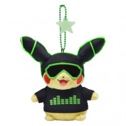 Keychain Plush Pikachu 2018 Green japan plush