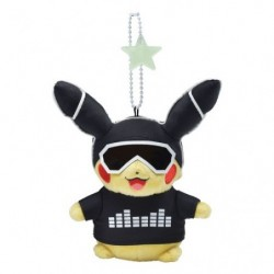 Keychain Plush Pikachu 2018 White japan plush