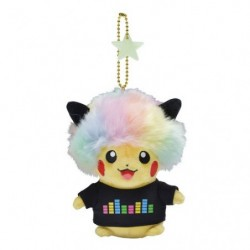 Keychain Plush Pikachu 2018 Afro Hair japan plush
