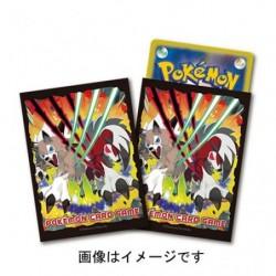 Card Sleeves Lycanroc japan plush