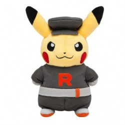 Plush Pikachu Team Rocket japan plush