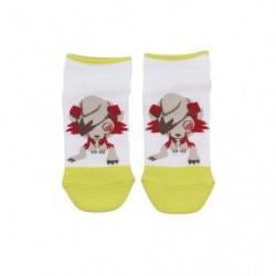 Chaussettes Courtes Pokemon Time Lougaroc japan plush