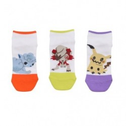 Chaussettes Courtes Pokemon Time N2 japan plush