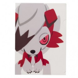 A4 Clear File Pokemon Time Lycanroc japan plush