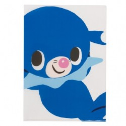 A4 Clear File Pokemon Time Popplio japan plush